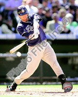 Chase Headley 2010 Action Fine-Art Print