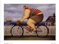 Mary's New Bike Fine-Art Print