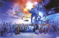 Star Wars - Galaxy Wall Poster