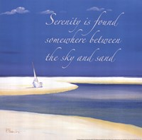 Serenity Sentiment Fine-Art Print