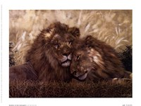 Brothers of the Serengeti Fine-Art Print