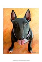 Bull Terrier Rhino Fine-Art Print