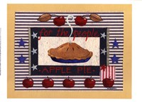 Americanna Apple Pie Fine-Art Print