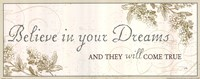 Believe in your dreams Fine-Art Print