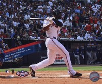 Jason Heyward 1st MLB Home Run with Overlay Fine-Art Print
