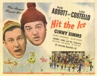 Abbott and Costello, Hit the Ice, c.1943 Fine-Art Print