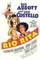 Abbott and Costello, Ria Rita, c.1942 Fine-Art Print