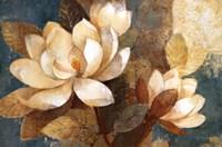 Turquoise Magnolias Fine-Art Print