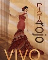 Pista Rojo Fine-Art Print