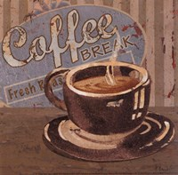 Coffee Brew Sign I - petite Fine-Art Print