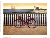 Cycle To The Beach Fine-Art Print