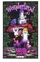 Black Light - Wonderland II Wall Poster