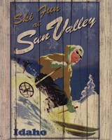 Ski Sun Valley Fine-Art Print