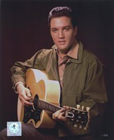Elvis Presley Wearing Olive Jacket (#8) Fine-Art Print