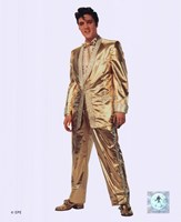 Elvis Presley Wearing Gold Suit (#10) Fine-Art Print
