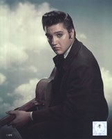 Elvis Presley with Cloud Backround (#12) Fine-Art Print