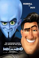 Megamind - Style B Wall Poster