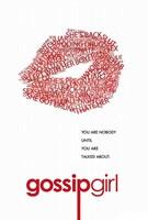 Gossip Girl - Red Lips Fine-Art Print