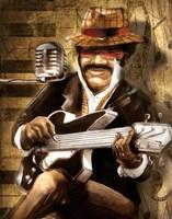 The Guitarist Fine-Art Print
