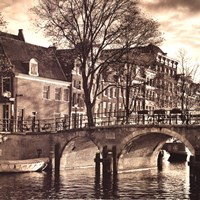 Autumn in Amsterdam II Fine-Art Print