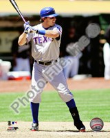 Ian Kinsler 2010 Action Fine-Art Print