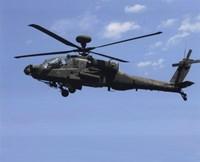 AH-64 Apache US Army photo Fine-Art Print