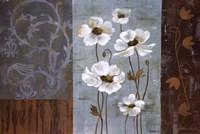 Blue Iridescent Anemones Fine-Art Print