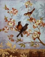 Robins & Blooms - mini Fine-Art Print
