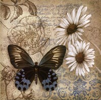 Butterfly Garden I Fine-Art Print