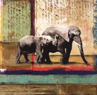 Serengeti Elephant Fine-Art Print