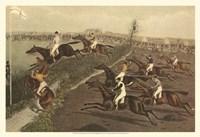 The Grand Steeple Chase II Fine-Art Print