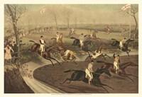 The Grand Steeple Chase III Fine-Art Print