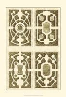 Small Garden Maze II (P) Fine-Art Print