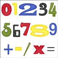 Kid's Room Numbers Fine-Art Print