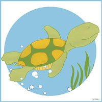 Timothy the Turtle Fine-Art Print