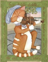 The Cat & The Fiddle Fine-Art Print