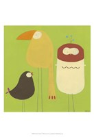 Feathered Friends I Fine-Art Print