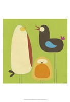 Feathered Friends II Fine-Art Print
