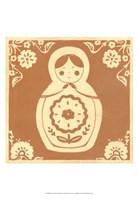 Russian Doll in Orange Fine-Art Print