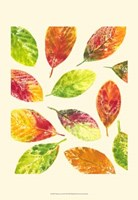 Vibrant Leaves II Fine-Art Print