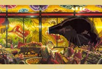 Spirited Away - Scene Wall Poster