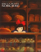 Kiki's Delivery Service (French Title) Wall Poster