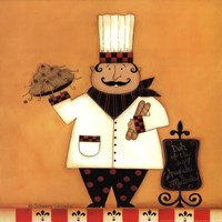 Chef with Spaghetti Fine-Art Print