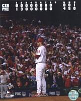 Roy Halladay throws the second no-hitter in MLB postseason history Fine-Art Print