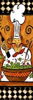 Whimsical Chef III (salad) Fine-Art Print