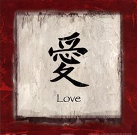 Love - border Fine-Art Print