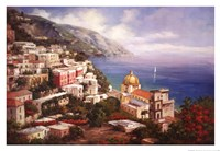 Lake Como View Fine-Art Print