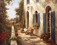 Sunny Terrace II Fine-Art Print