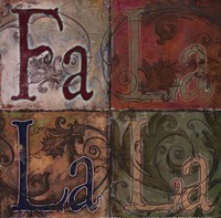 Fa La La La Fine-Art Print