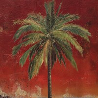 La Palma on Red I Fine-Art Print